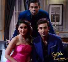 Mode und Kontroversen in Koffee with Karan - ranbir und kareena kapoor