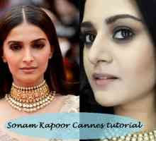 Tutorial: sonam kapoor cannes 2014 inspirierte Make-up Look