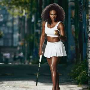 Serena williams 'Wagemut' in Harpers Bazaar Verbreitung