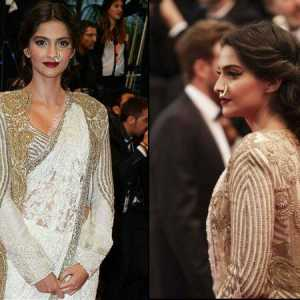 Sonam kapoor zwei Outfits: cannes Eröffnungsgala 2013