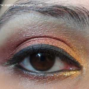 Vna l`Oreal Paris Sommer Augen Make-up contest entry 4 - Sommer Sonnenuntergang