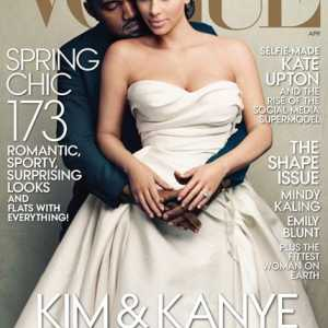 Worldsmosttalkedaboutcouple: kim und kanye Mode Magazin-Cover [Video]